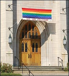 _44832997_churchwithrainbowbanner
