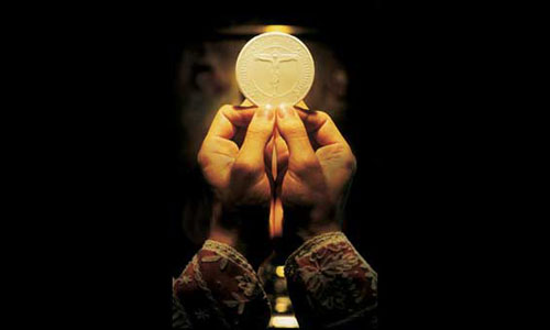 does the church make the eucharist or does the eucharist make the church Do hosts used for the holy eucharist have a host made of rice simply cannot be transubstantiated into the holy eucharist keep in mind, the church is not.