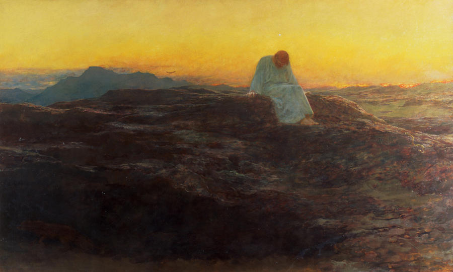 christ-in-the-wilderness-briton-riviere