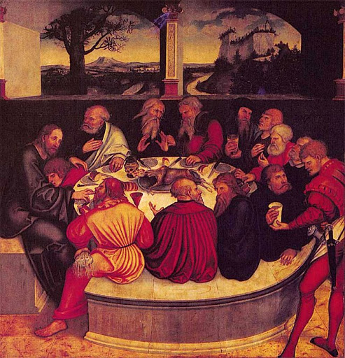 Lucas-Cranach-the-Elder-The-Last-Supper-1547