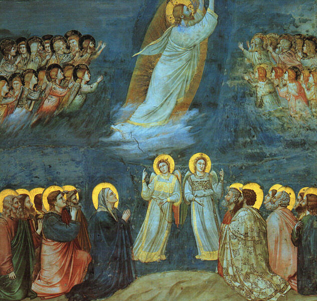 Giotto_-_Scrovegni_-_-38-_-_Ascension