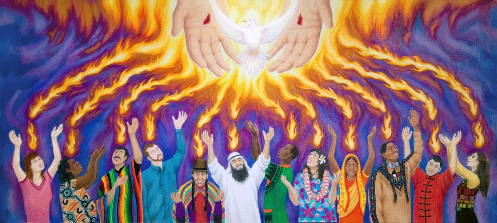 Kids Bible Craft Coming Holy Spirit Wind And Fire