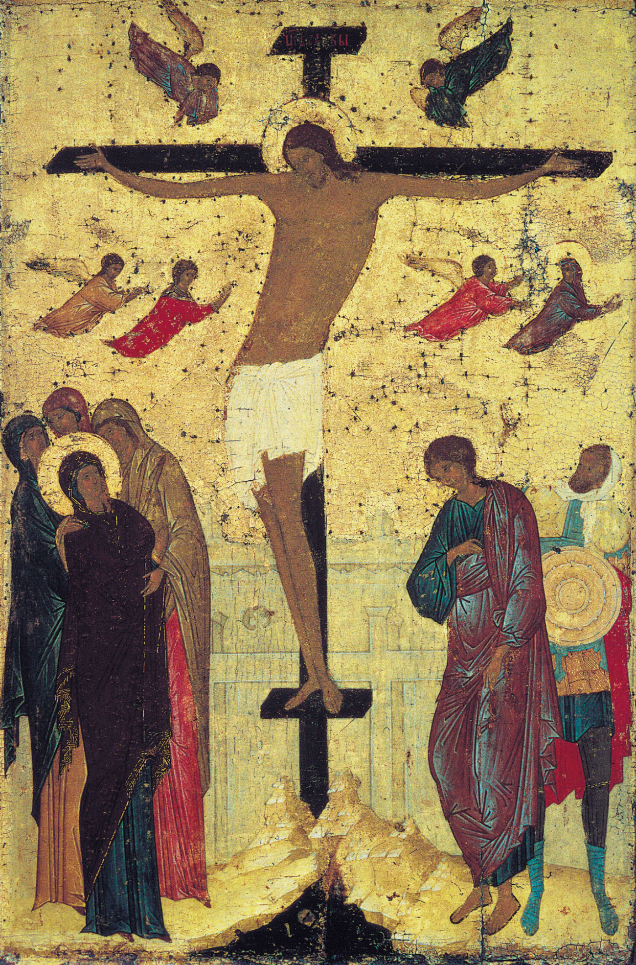 After Chagall returns from Israel, he focuses on Old Testament and ... Chagall Crucifixion
